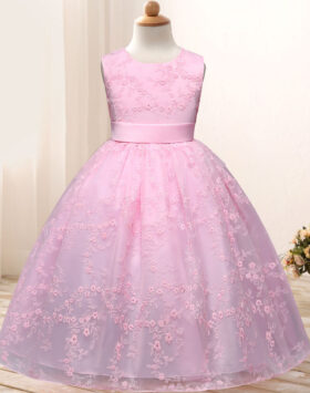 Terbaru Gaun Anak Formal Pink Mewah 2020