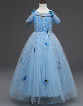 Terbaru Gaun Anak Princess Aurora 2020
