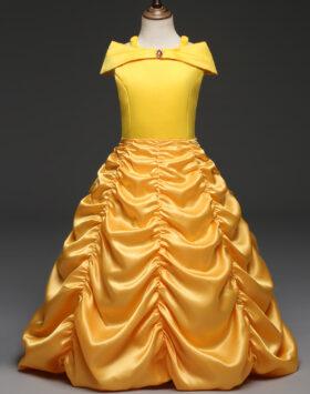 Terbaru Gaun Anak Princess Belle Impor 2020