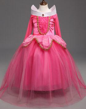 Terbaru Gaun Anak Princess Pink Aurora 2020