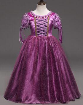 Terbaru Gaun Anak Princess Rapunzel 2020