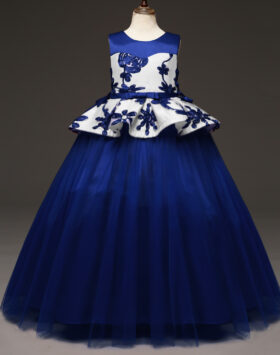 Terbaru Gaun Anak Style Amerika Navy 2020
