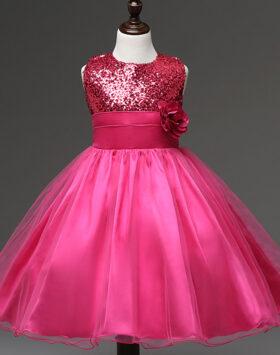 Terbaru Gaun Anak Style Eropa Fuscia 2020