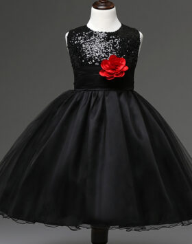 Terbaru Gaun Anak Style Eropa Hitam 2020