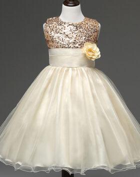Terbaru Gaun Anak Style Eropa Ivory 2020