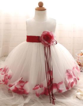 Terbaru Gaun Pesta Anak Mawar Merah 2020