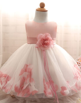 Terbaru Mini Dress Anak Mawar Crystal 2020