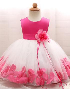 Terbaru Mini Dress Anak Mawar Pink 2020