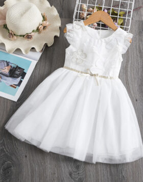 Terbaru Mini Dress Anak Off White Impor 2020