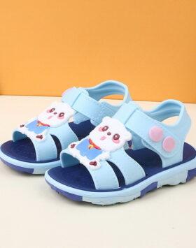 Terbaru Sandal Anak Anti Slip Biru 2021