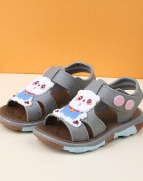 Terbaru Sandal Anak Anti Slip Coklat 2021
