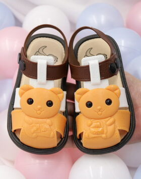 Terbaru Sandal Anak Gummy Bear Oren 2020