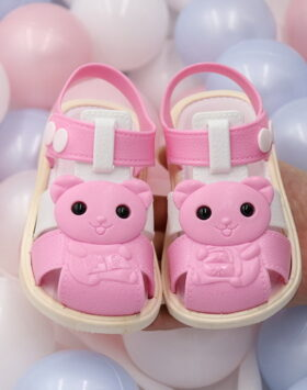 Terbaru Sandal Anak Gummy Bear Pink 2020