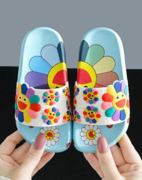 Terbaru Sandal Anak Bunga Biru 2020