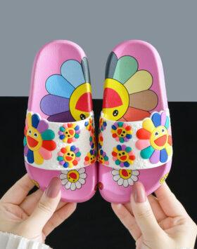 Terbaru Sandal Anak Bunga Pink 2020
