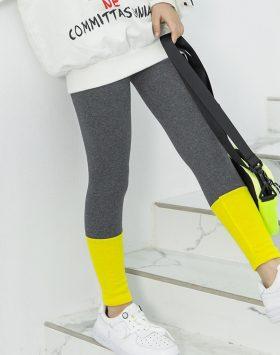 Terbaru Celana Anak Legging Abu Kuning 2021