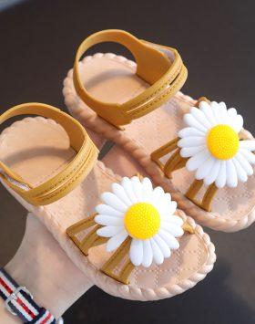 Terbaru Sandal Anak Daisy Tali Coklat 2021