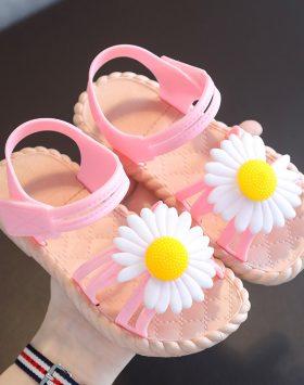 Terbaru Sandal Anak Daisy Tali Pink 2021